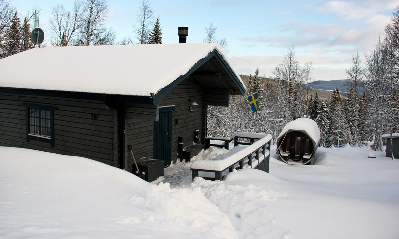 FL 9 Flatruet 78 – Skärkdalen/Flatruet