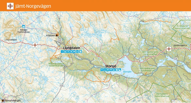 Jämt-Norgevägen